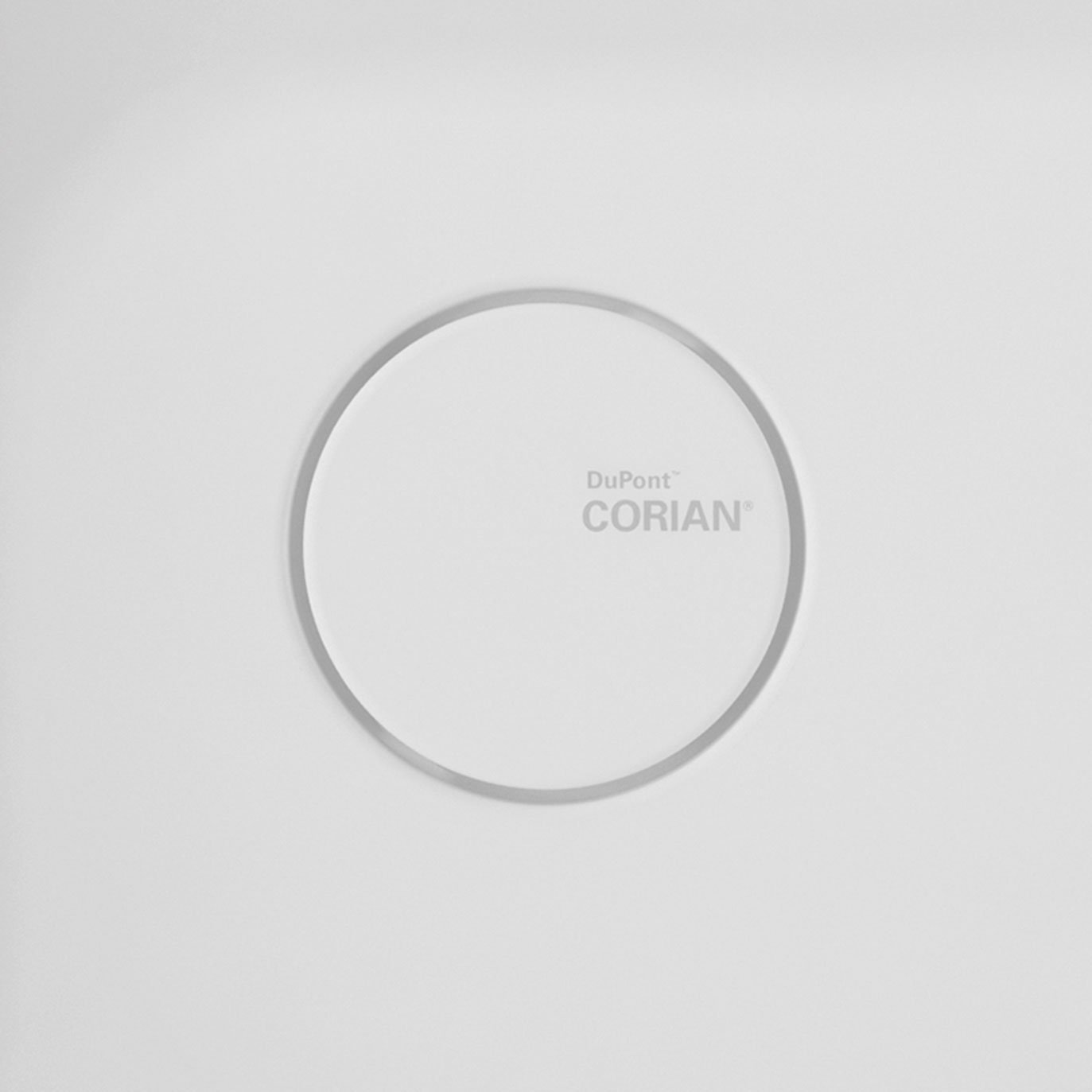 Image of Branded Corian® Drain Cover