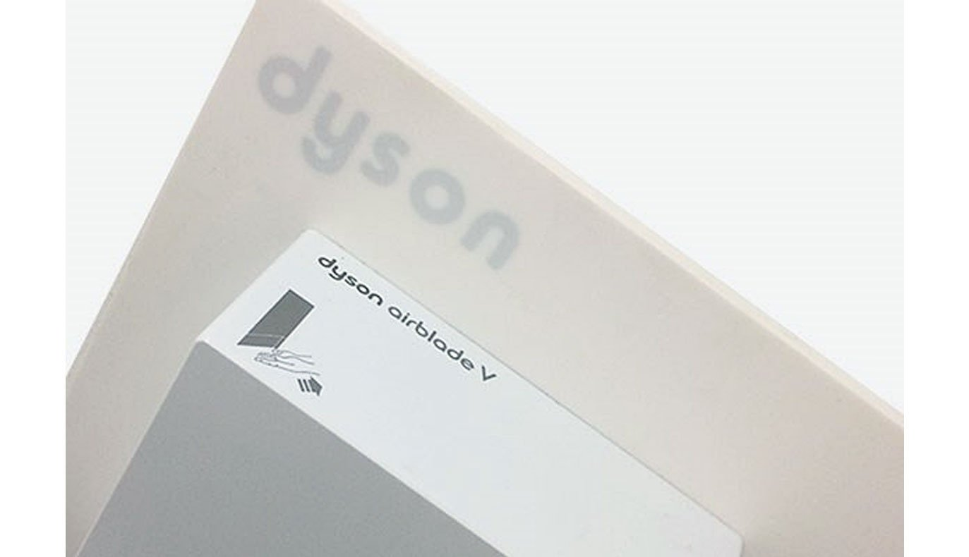 Picture of Corian® Dyson Splashback Panels for Dyson V Hand Dryer