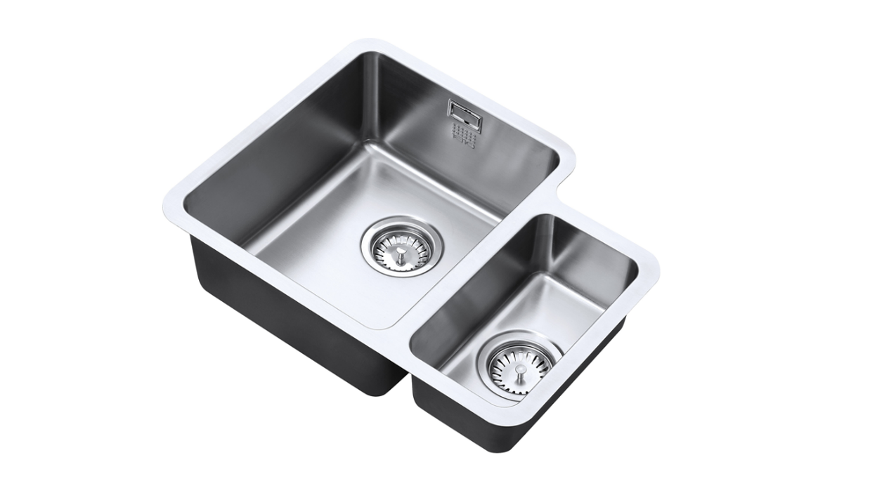 Image of Left Hand Dual Stainless Steel Sink