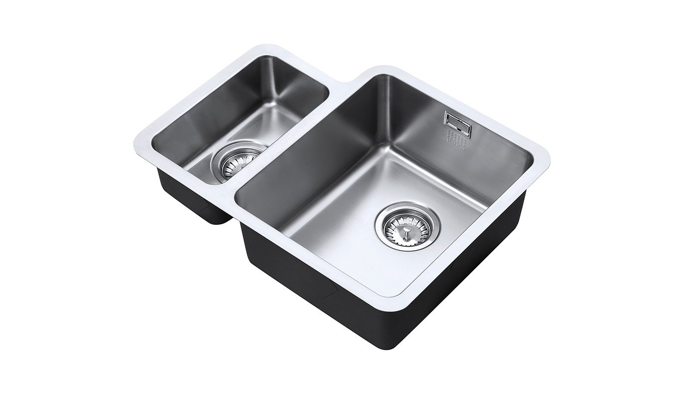 Image of Right Hand Dual Stainless Steel Sink