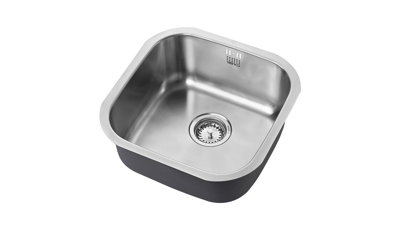 Image of Single Bowl Stainless Steel Sink 400