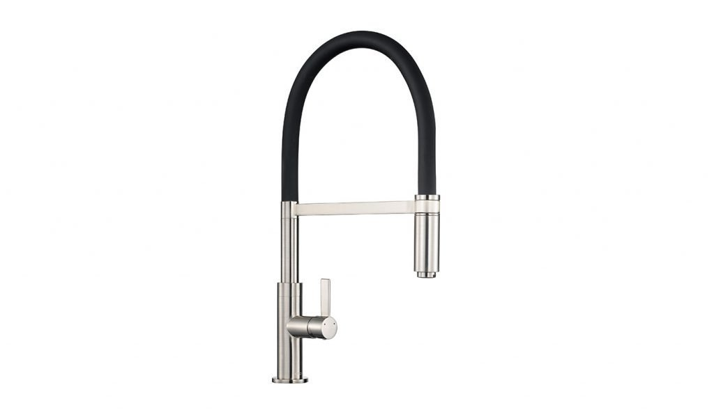 Spirale Flexible Spout Tap - Brushed Steel