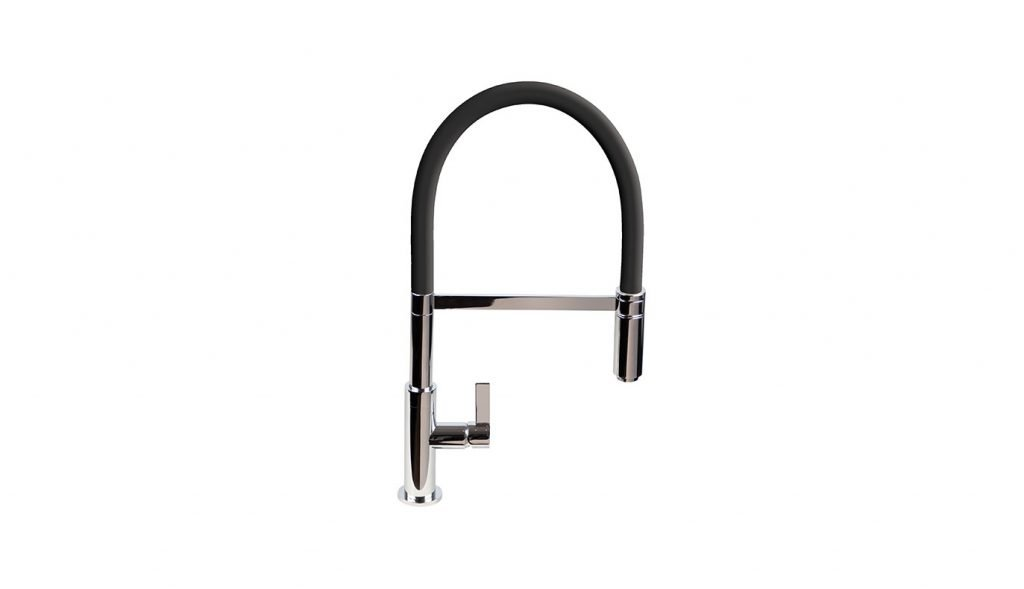 Spirale Flexible Spout Tap - Black