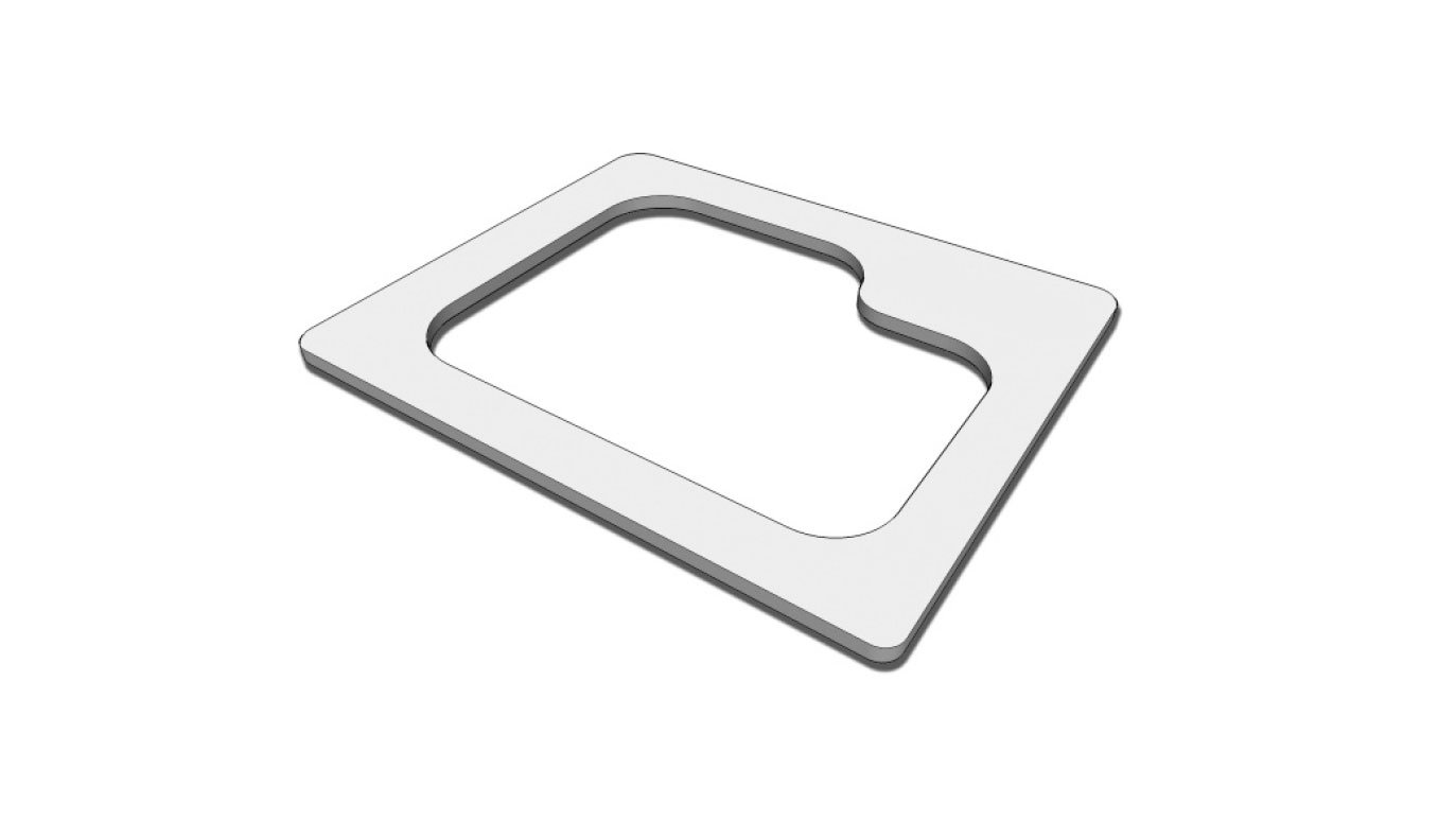 Picture of Undermount Sink Templates