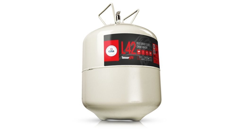 image of Tensorgrip clear adhesive 22ltr canister