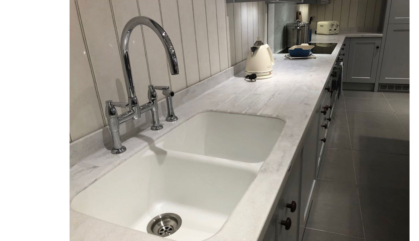 Image of Corian® Decorative Worktop Rear Upstands