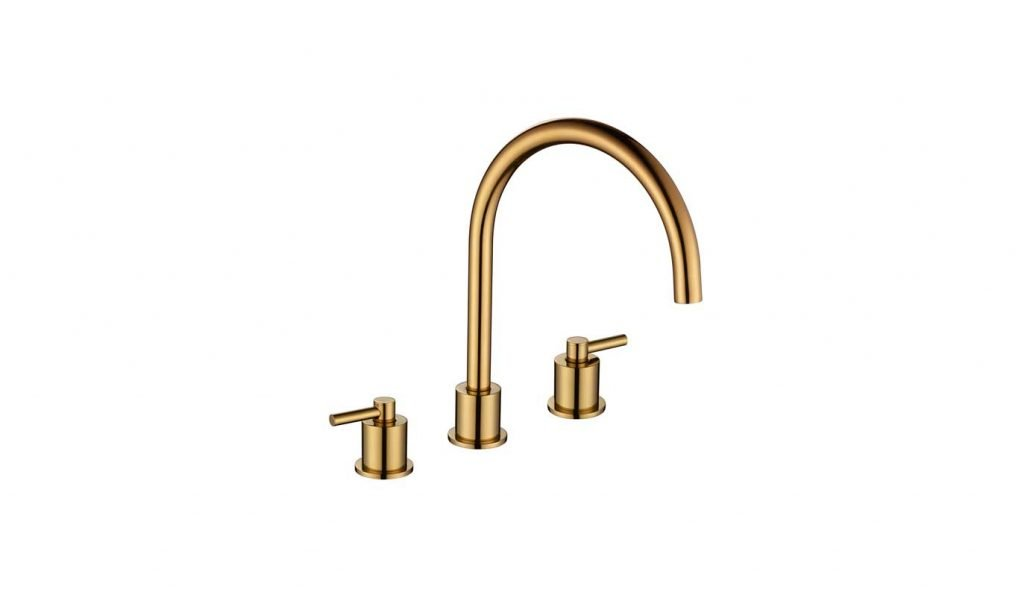 Aero Tap in Gold Brass