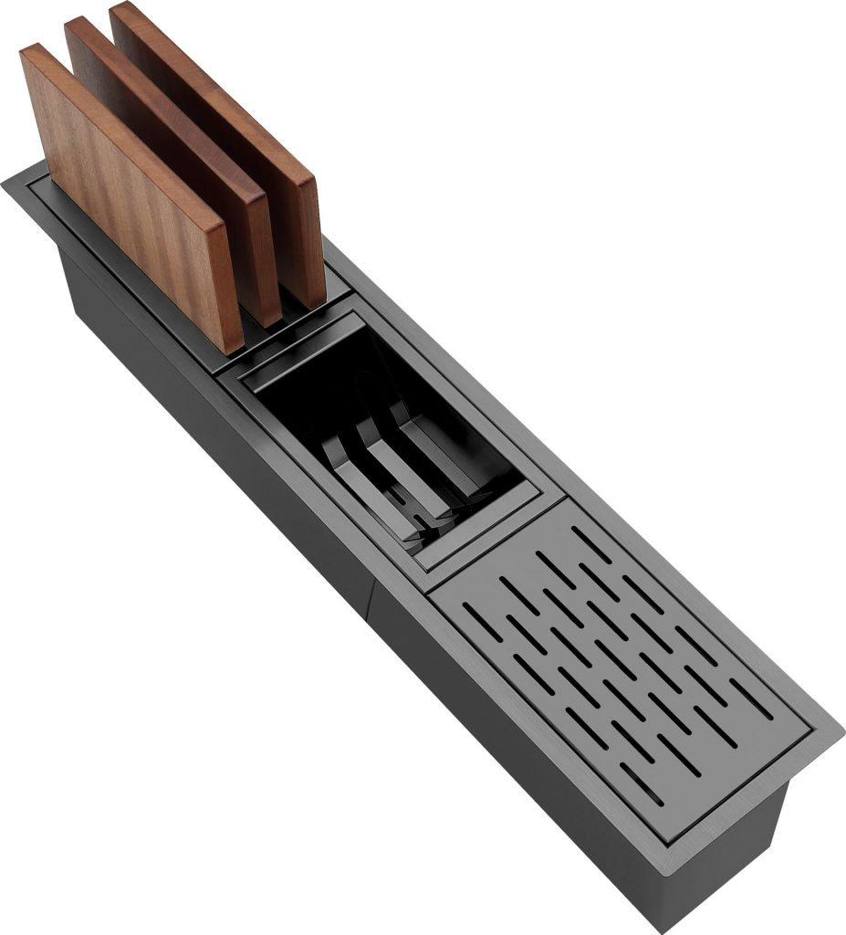 Accessory Trough - Gunmetal