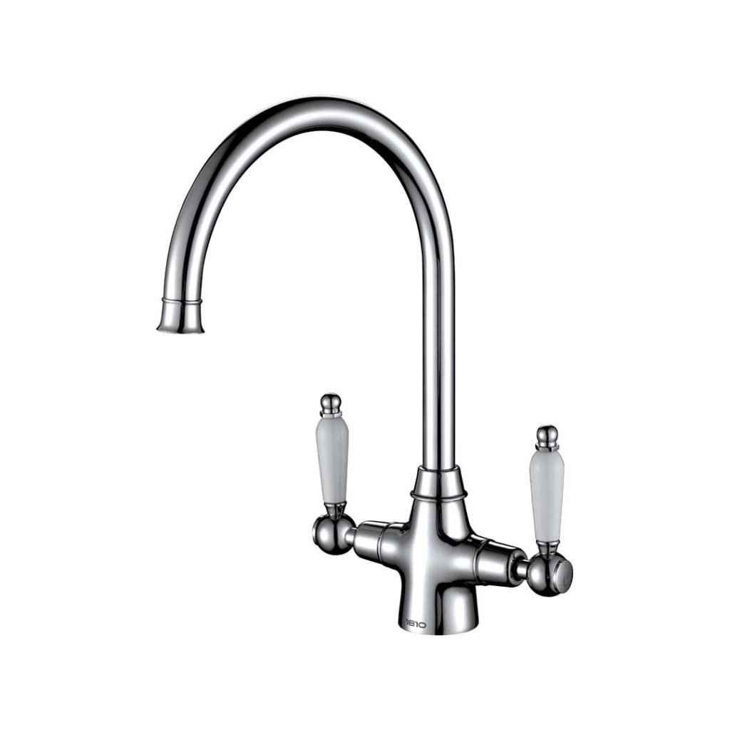 Rodex Twin Lever Tap - Chrome