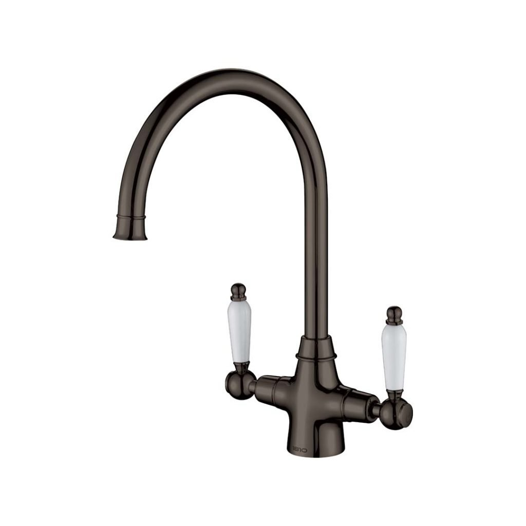 Rodex Twin Lever Tap - Gunmetal